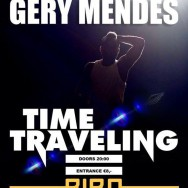 Exclusief concert multitalent Gery Mendes in BIRD